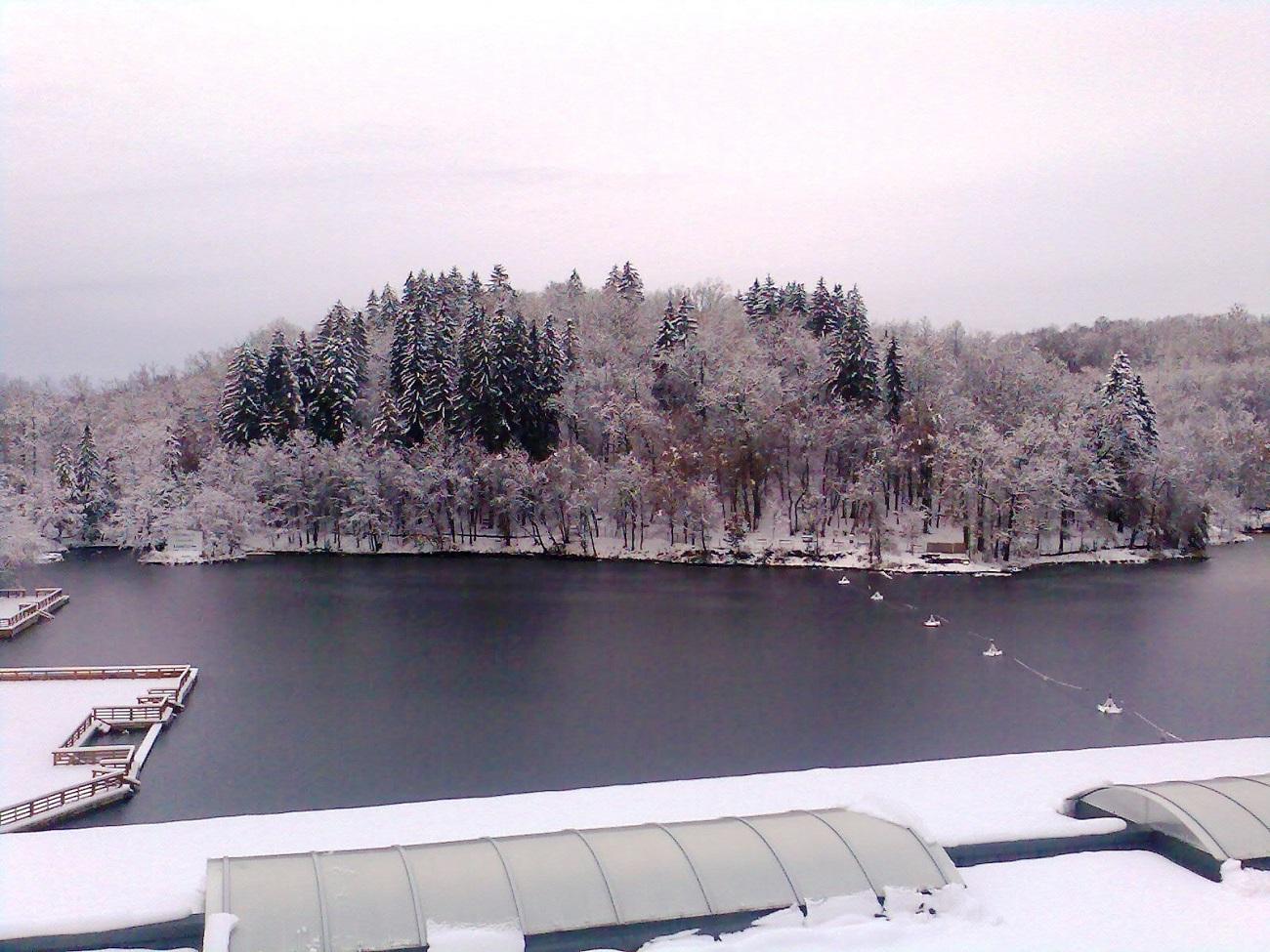 Lacul Ursu, iarna