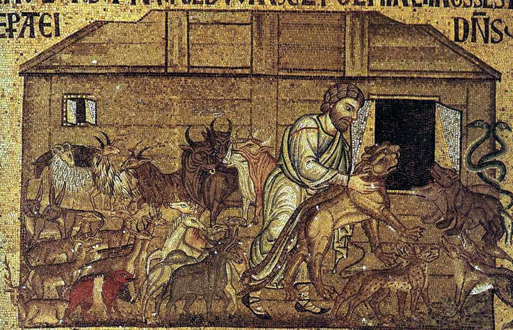 Mozaicurile din interiorul clădirii sunt adevărate capodopere