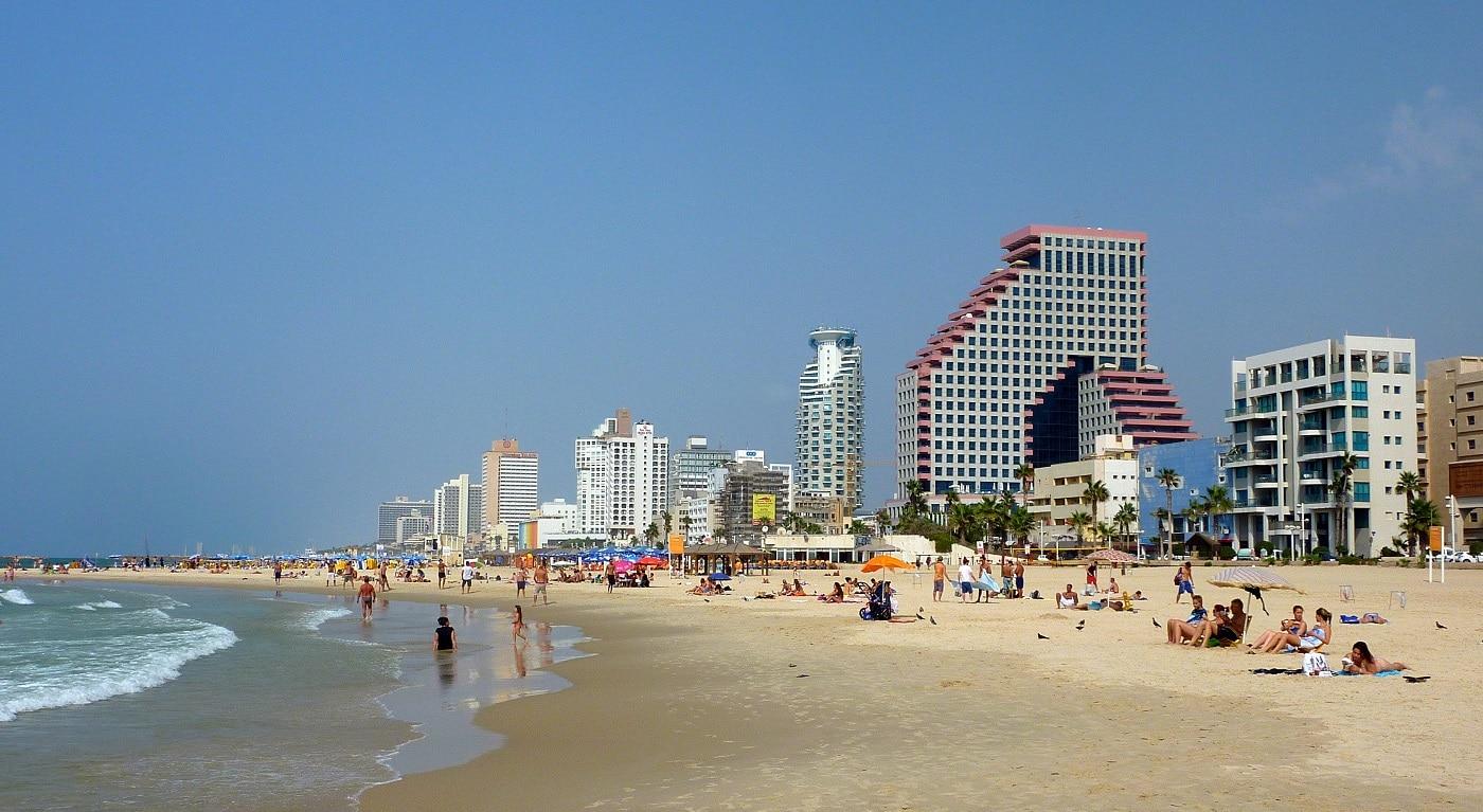 Plajele din Tel Aviv au fost modernizate recent