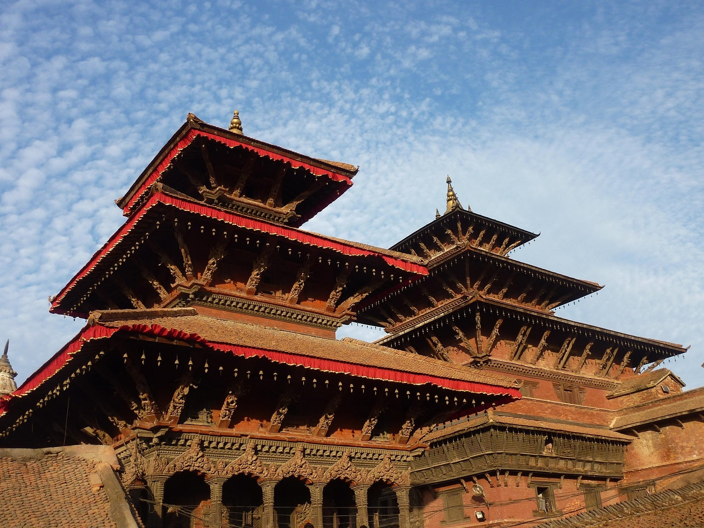 Templul Patan, detalii arhitecturale