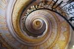 Treptele interioare sunt un adevărat labirint