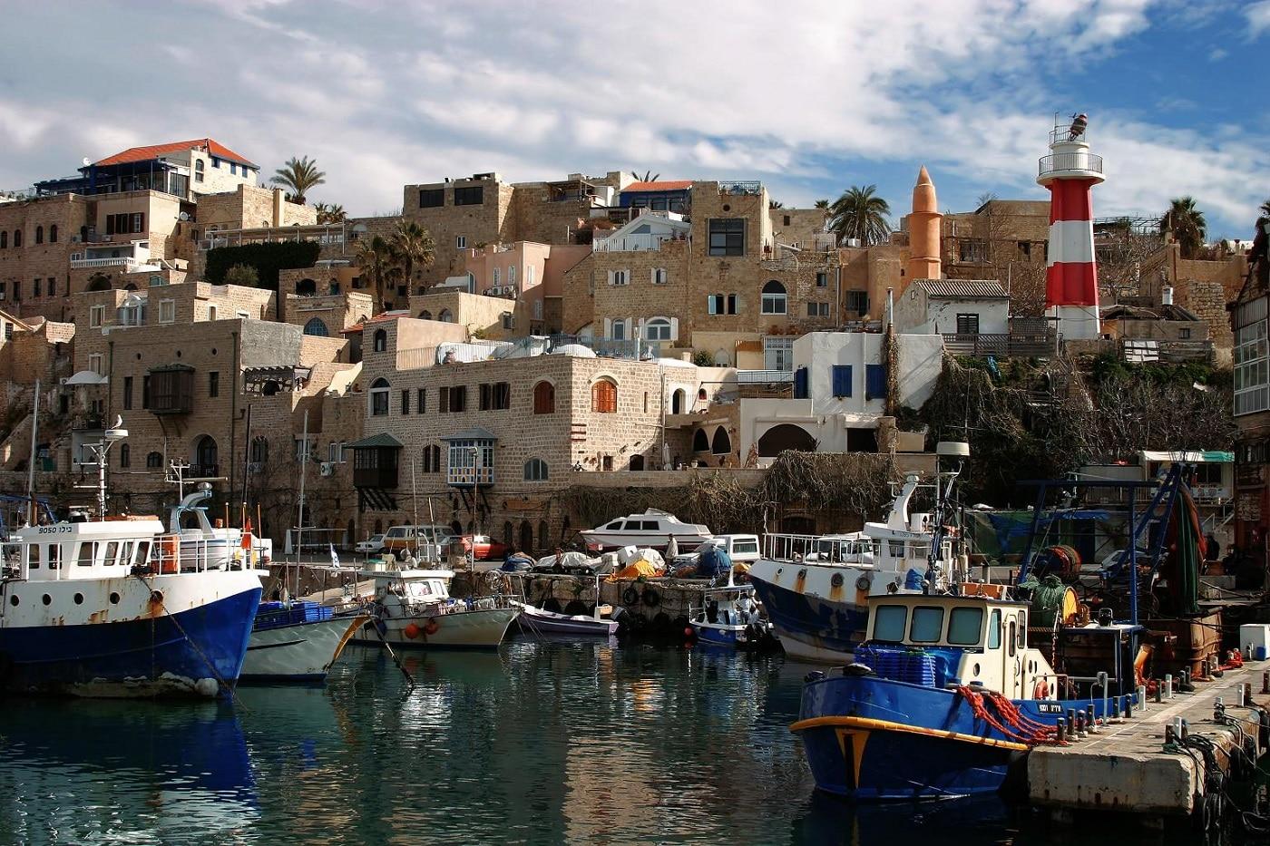 Vechiul Jaffa, una dintre cele mai vechi zone portuare din lume