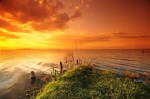 Apus de soare pe Lacul Naivasha