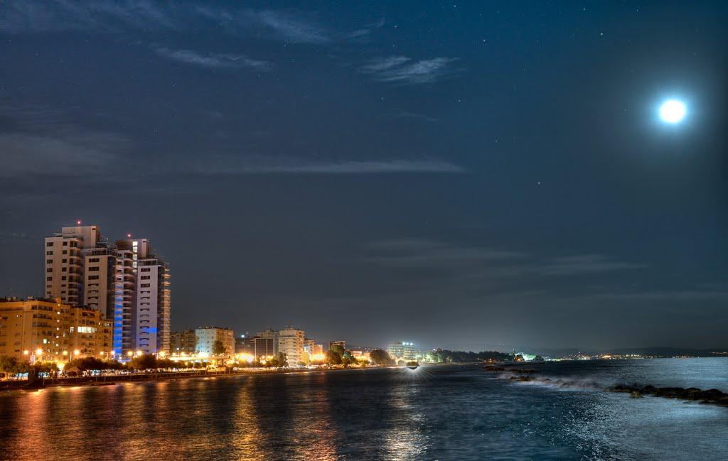 Limassol, noaptea