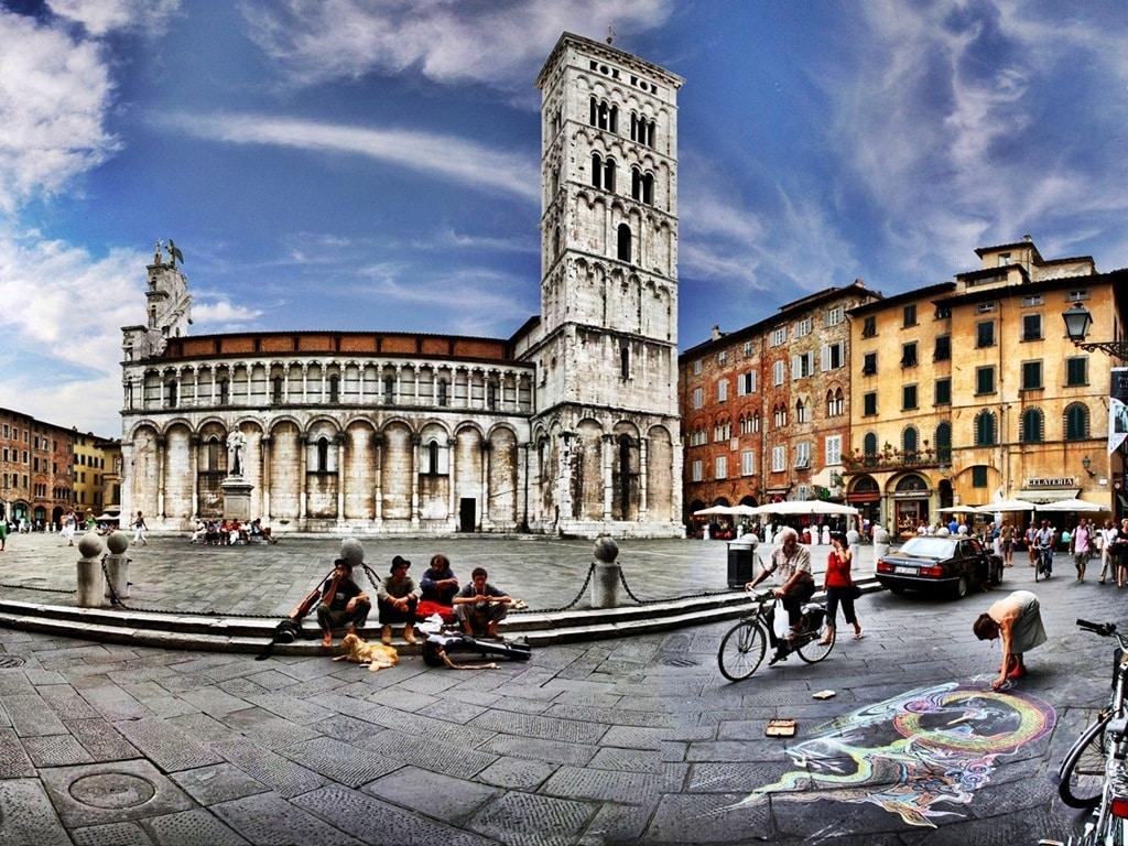 Lucca, un oraş minunat!