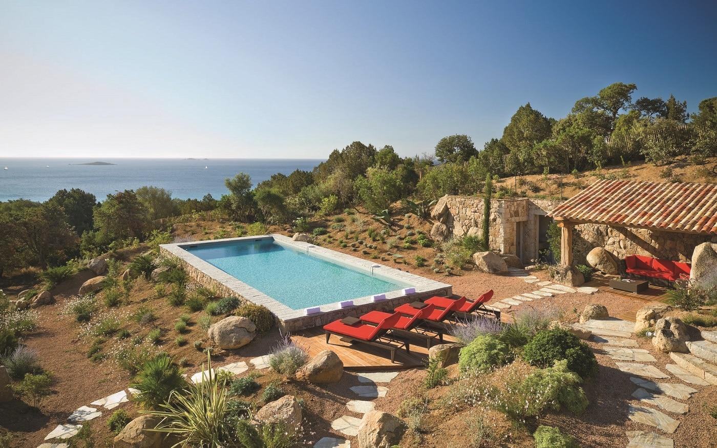 SPA în aer liber în Corsica