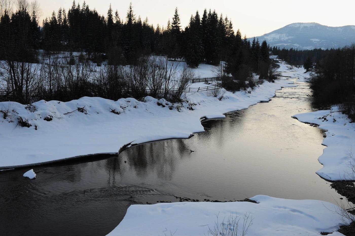 Valea Arieşului, iarna