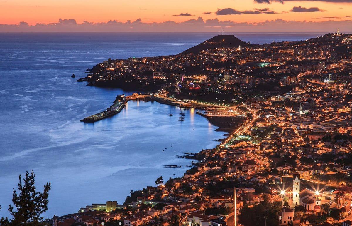 Insula Madeira, noaptea