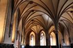 Interiorul castelului, la fel de impresionant ca şi exteriorul