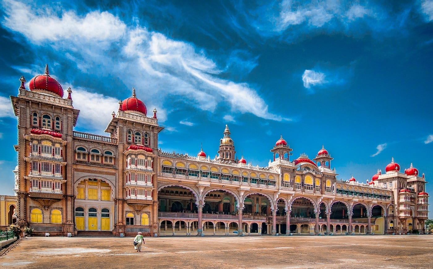 Mysore, unul dintre cele mai frumoase palate ale lumii
