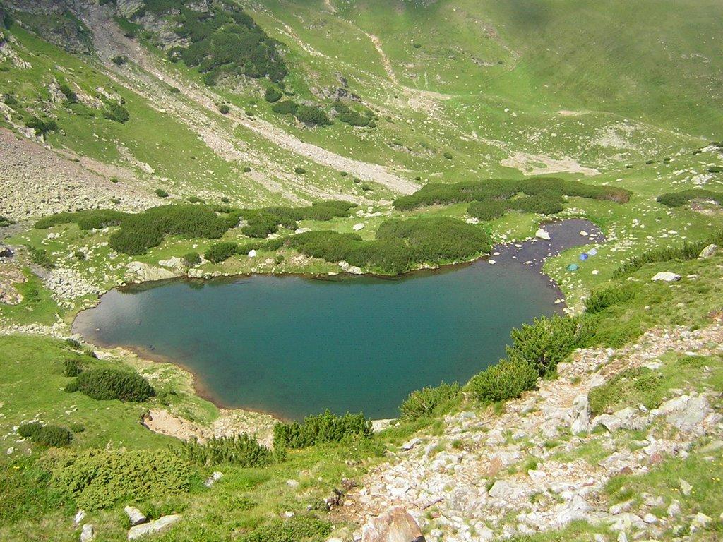 Lacul glaciar Gugu
