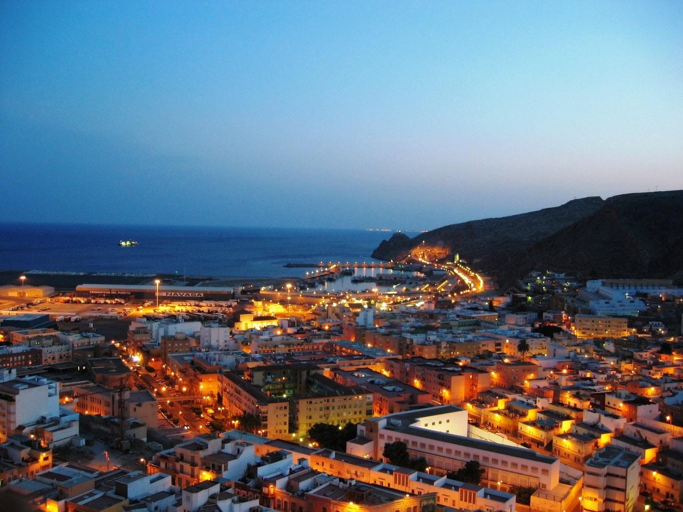 Almeria,noaptea