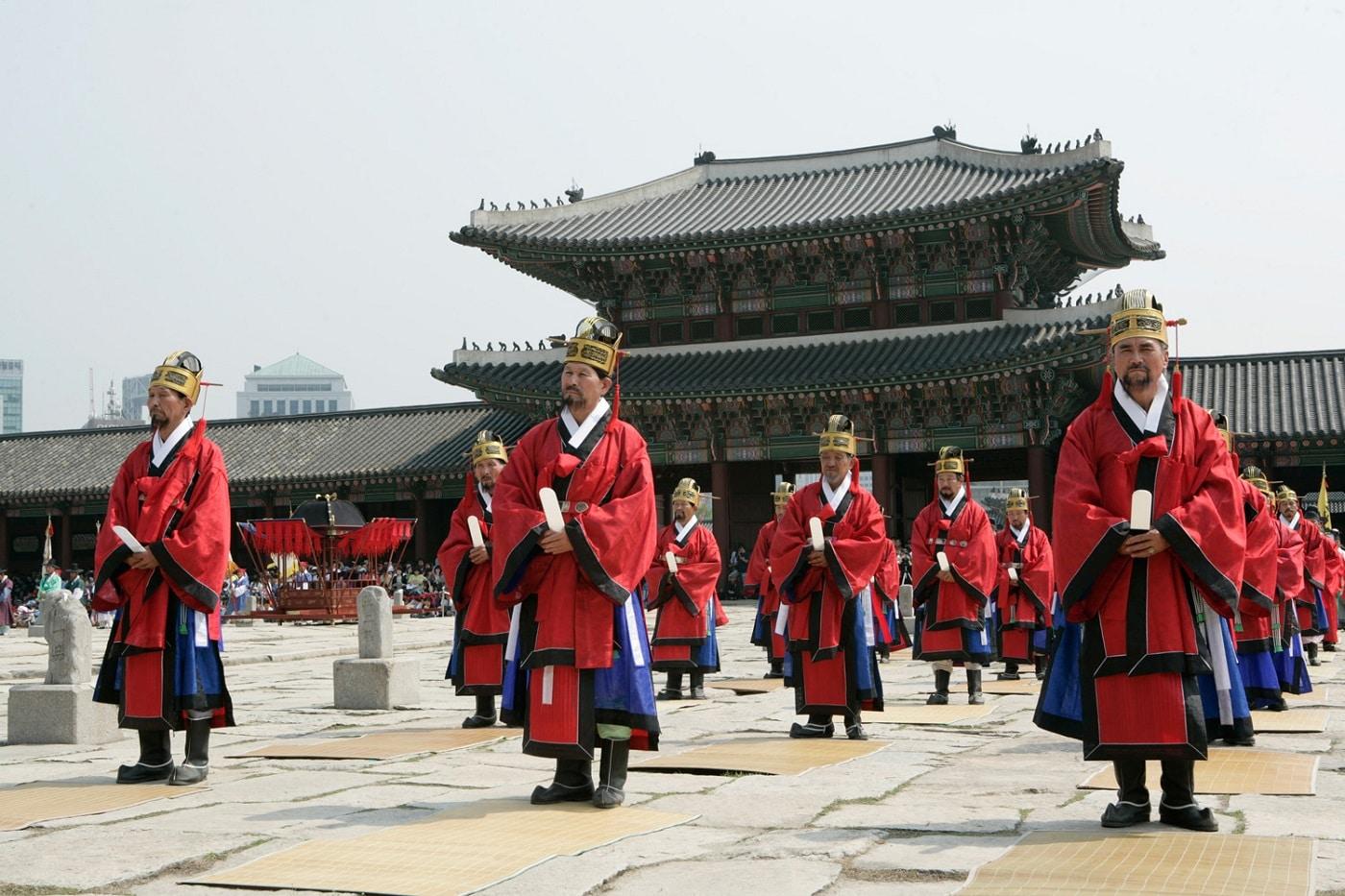 Altarul Jongmyo, locul unde se petrec numeroase evenimente interesante