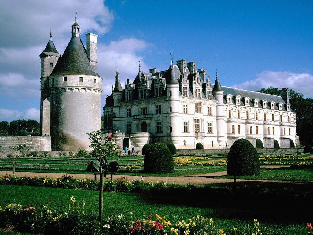 Castelul Chenonceau, o construcţie unică!
