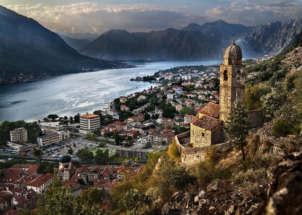 Golful Kotor, Muntenegru