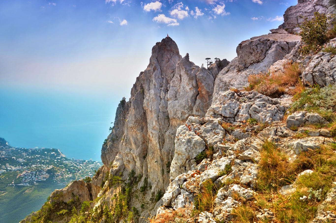 Muntele Ai-Petri oferă privelişti spectaculoase!