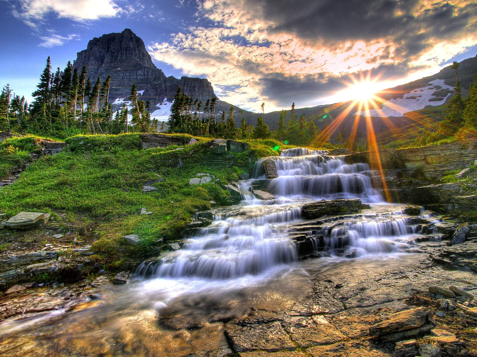Parcul Naţional Glacier, Montana