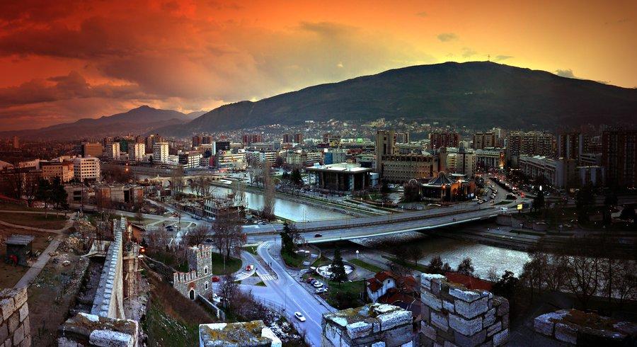 Skopje, un oraş liniştit