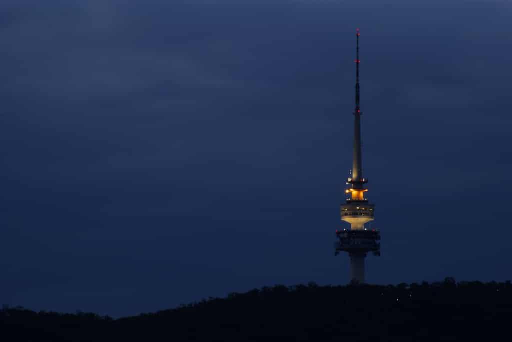 Turnul de pe Muntele Negru, structura care oferă privelişti uimitoare