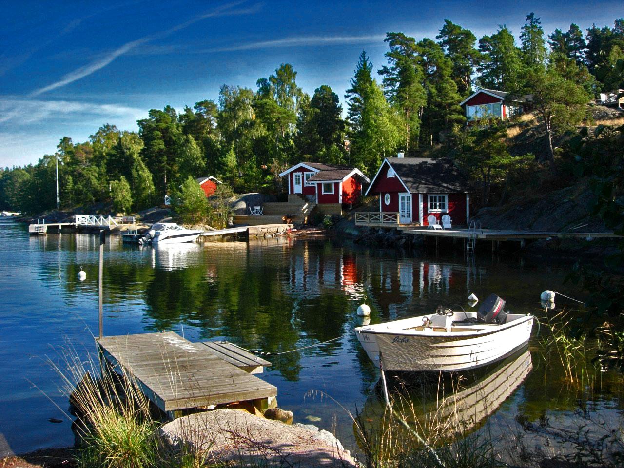 Ahipelagul Stockholm, Suedia