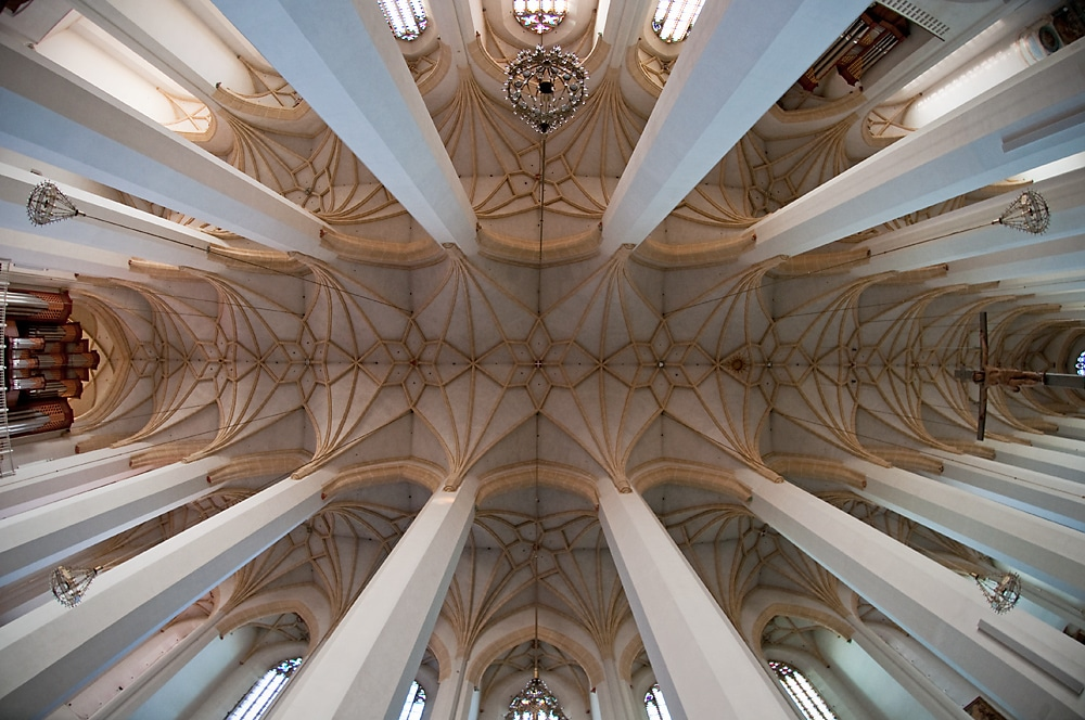 Arcadele interioare ale Catedralei din Munchen