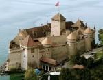 Castelul Chillon, unul dintre cele mai frumoase edificii istorice din lume