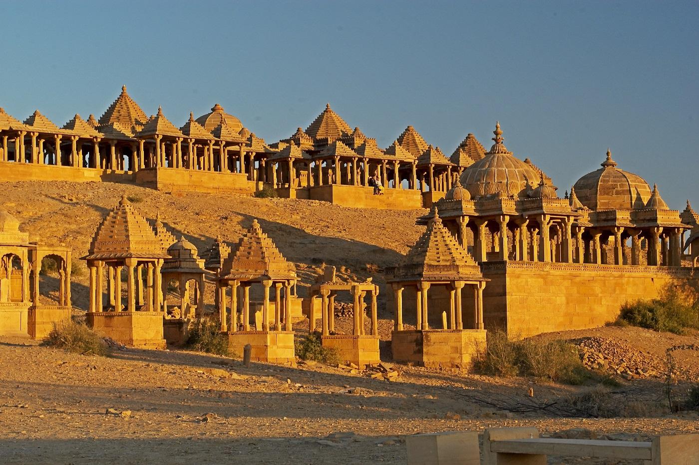 Fiecare edificiu din Jaisalmer are ceva special