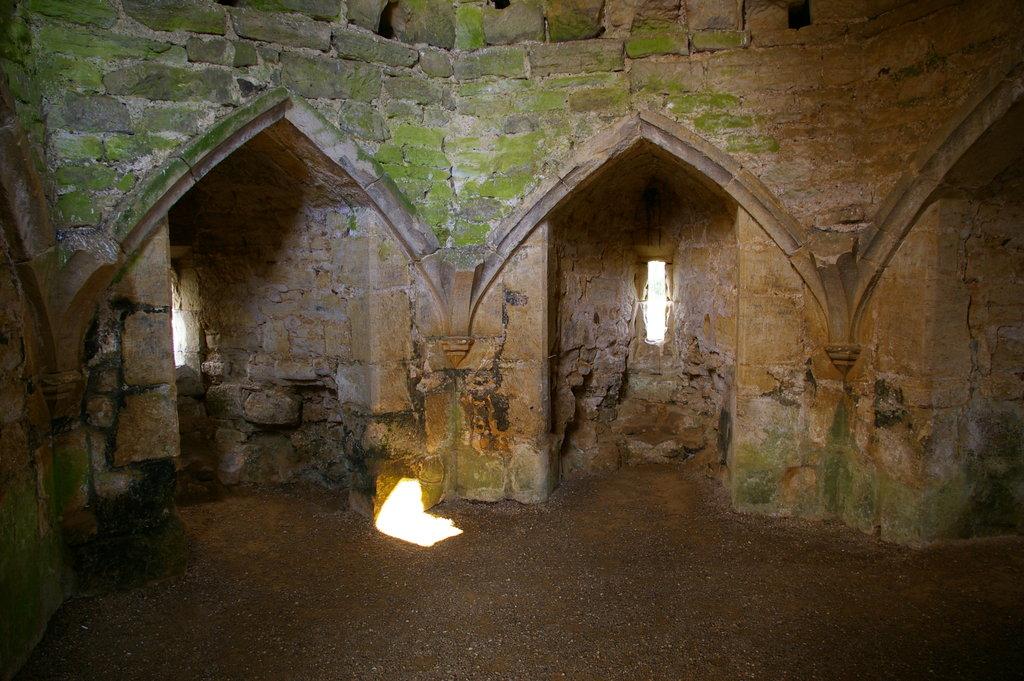 Interiorul castelului nu mai este ce-a fost odată