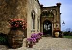 Intrarea în Villa Cimbrone