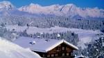 Peisaj de iarnă din Tirol
