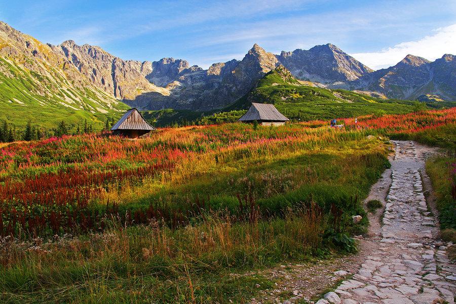 În Munții Tatra există o sumedenie de poteci perfecte pentru drumeții