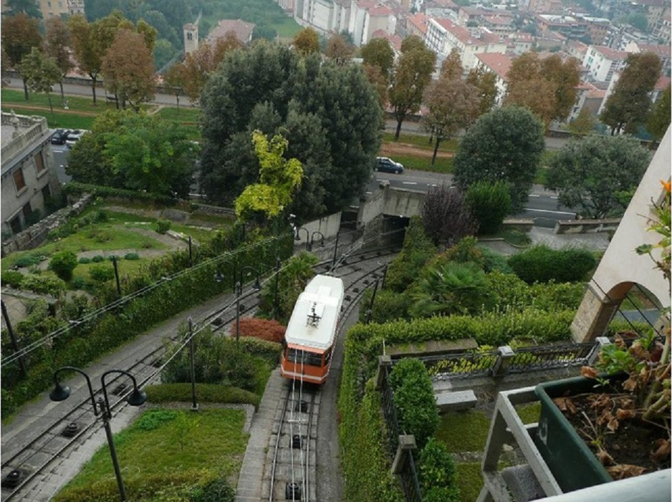 Funicularul  din Bergamo