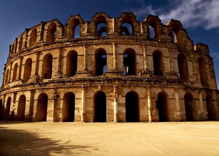 Amfiteatrul El Djem, Tunisia