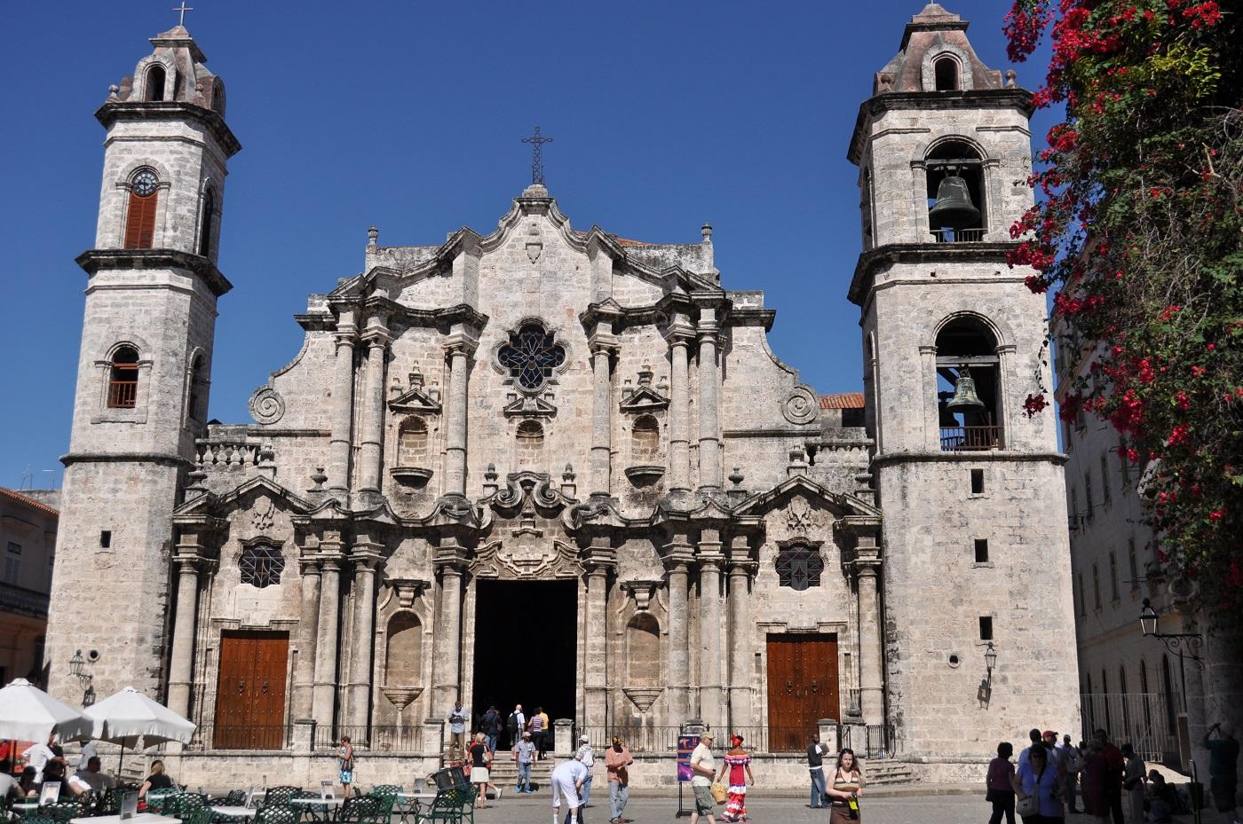 Catedrala din Havana, o construcție superbă!