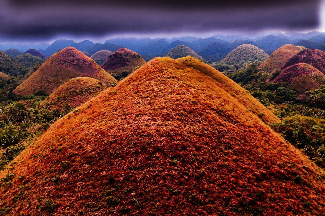 Dealurile de Ciocolată, Filipine