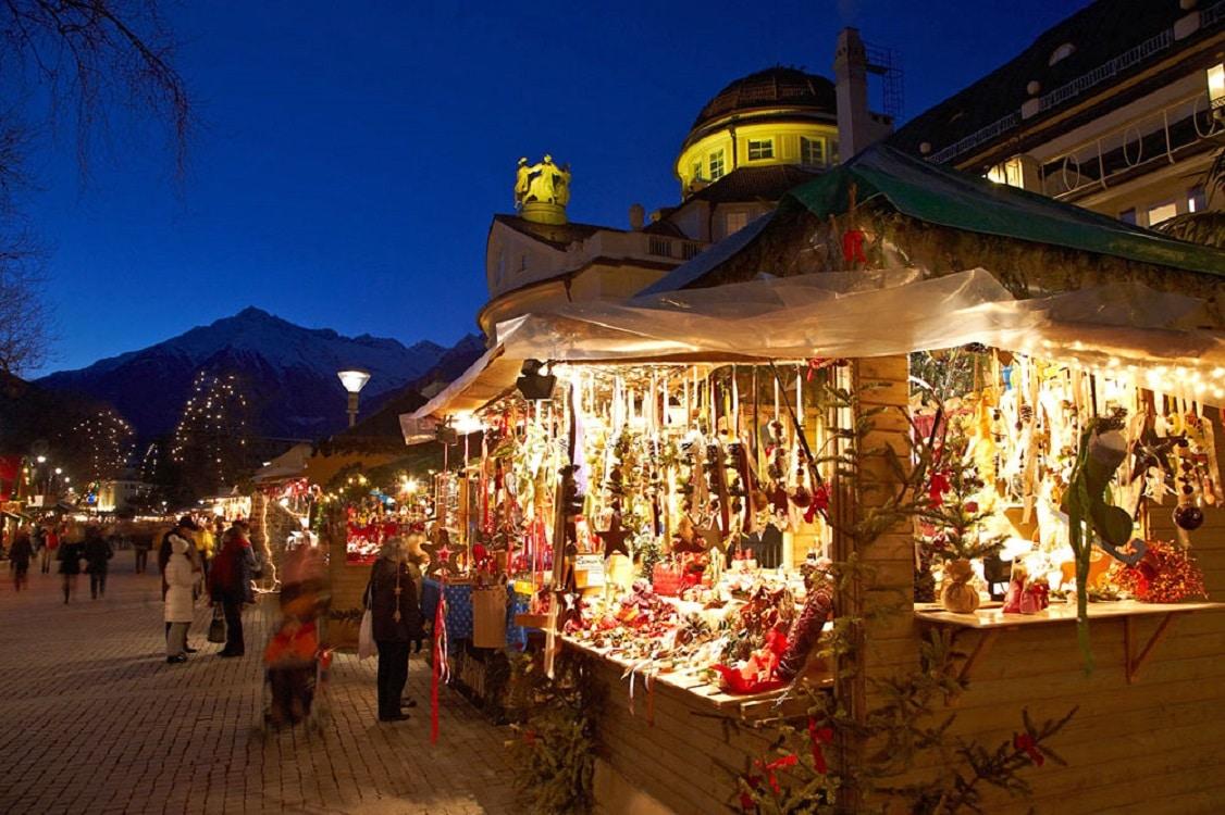 Piața de Crăciun din Merano - Italia