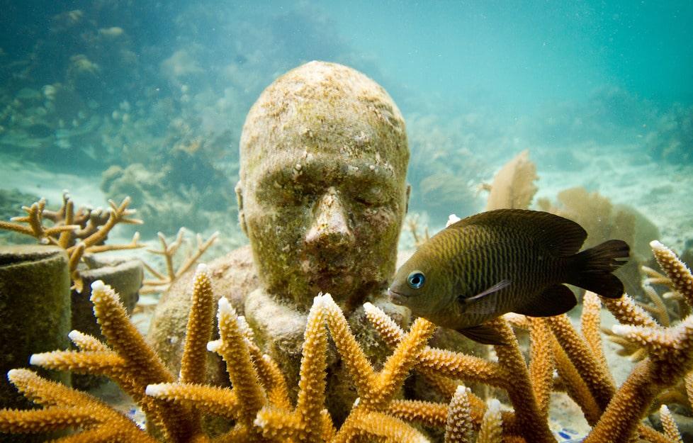 Muzeul subacvatic din Cancun, minunea din adâncul apelor