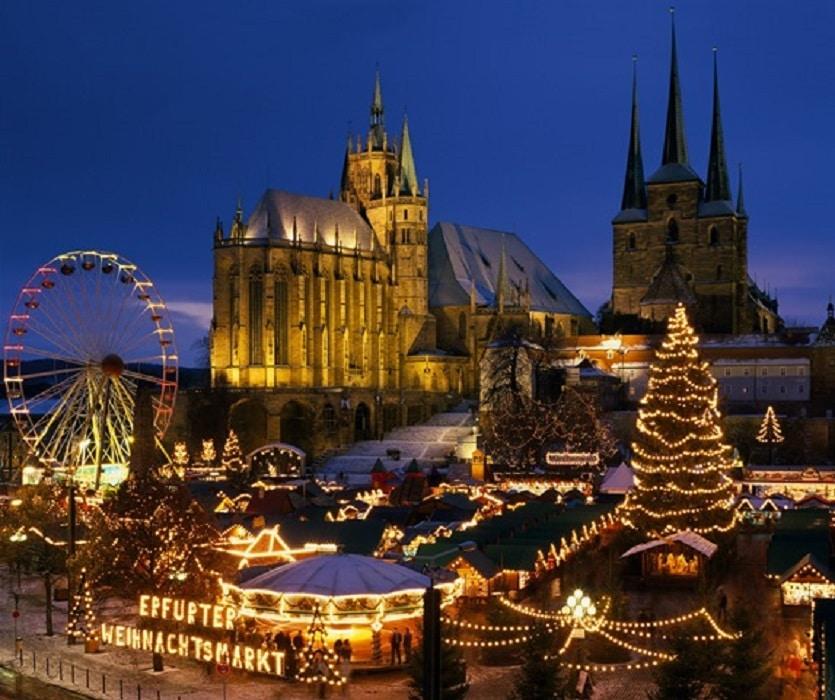 Piața Vrijthof - Piața de Crăciun din Maastricht, Olanda