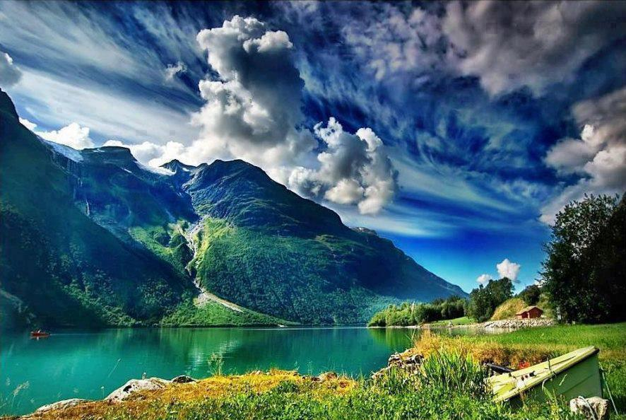 Un paradis natural în sudul Norvegiei