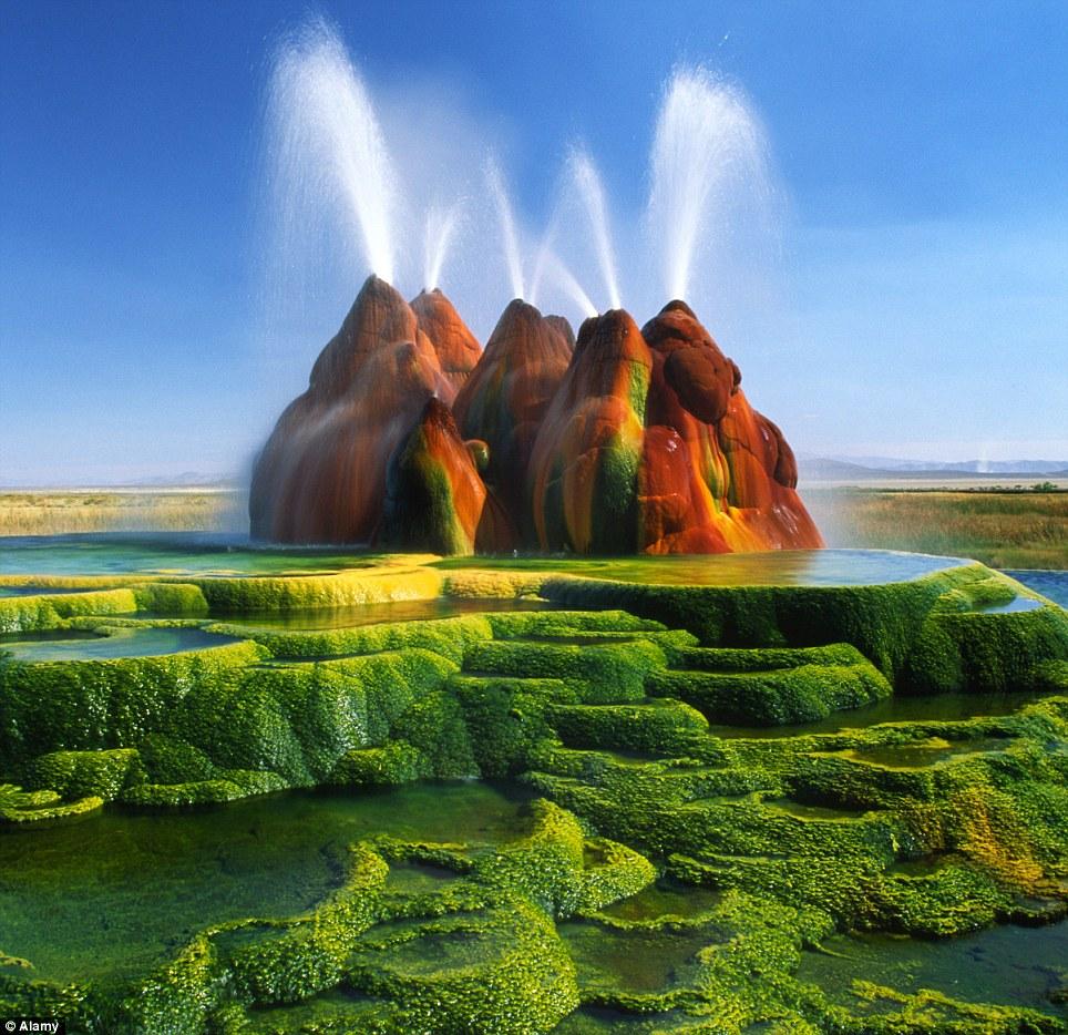 Gheizerul Zburător - Un adevărat spectacol al naturii