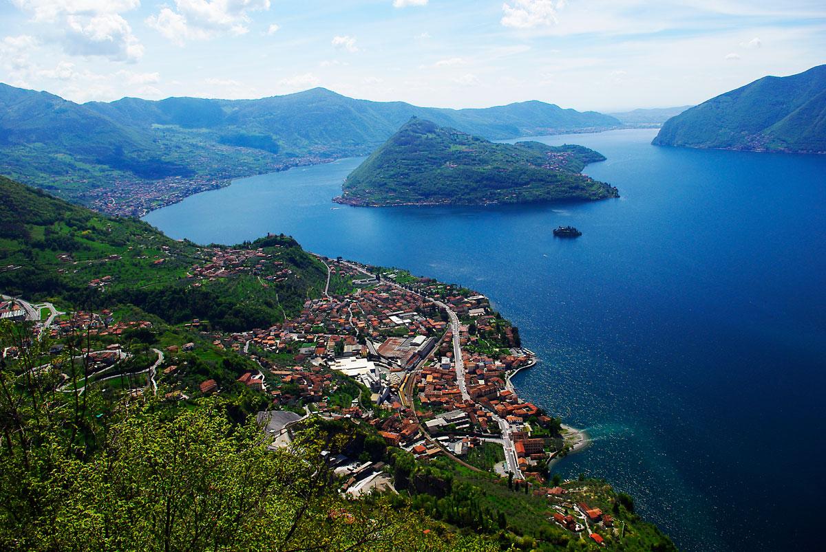 Lago d`Iseo și Monta Isola