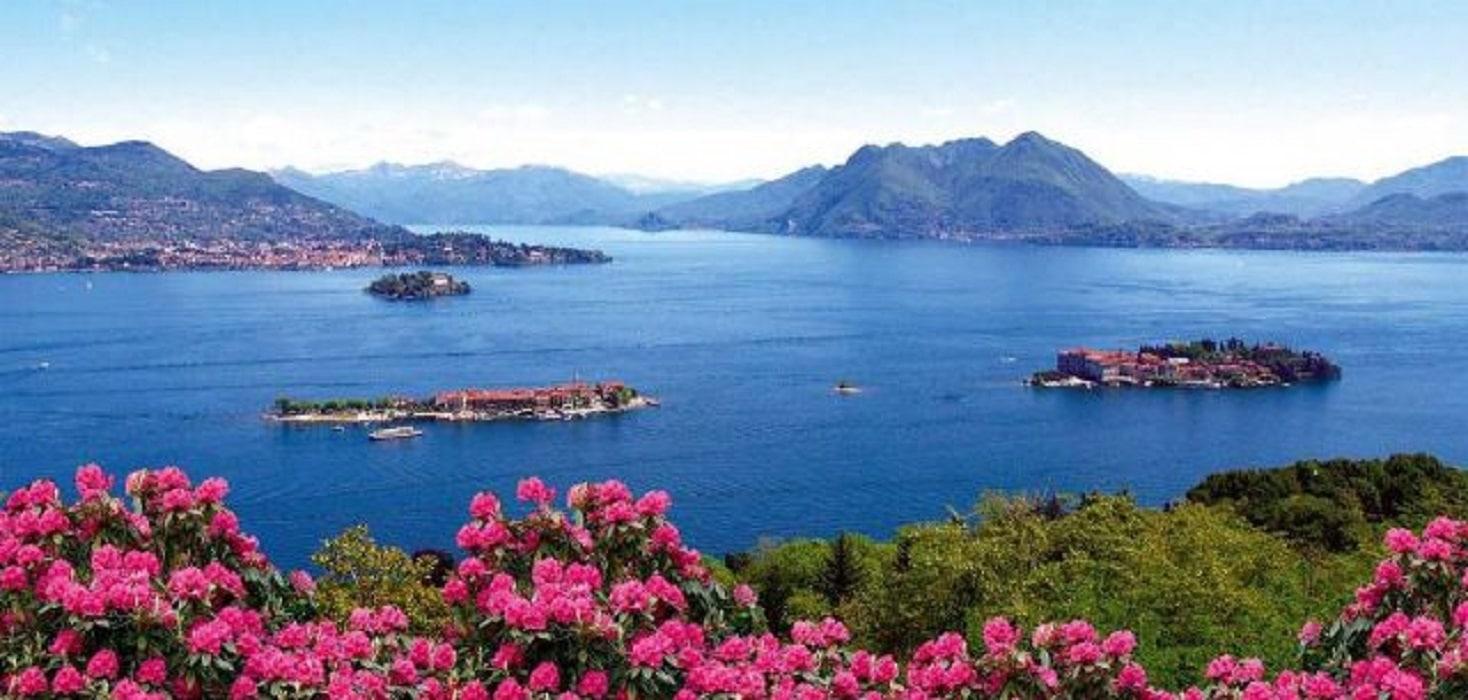 Lago Maggiore - VEdere panoramică