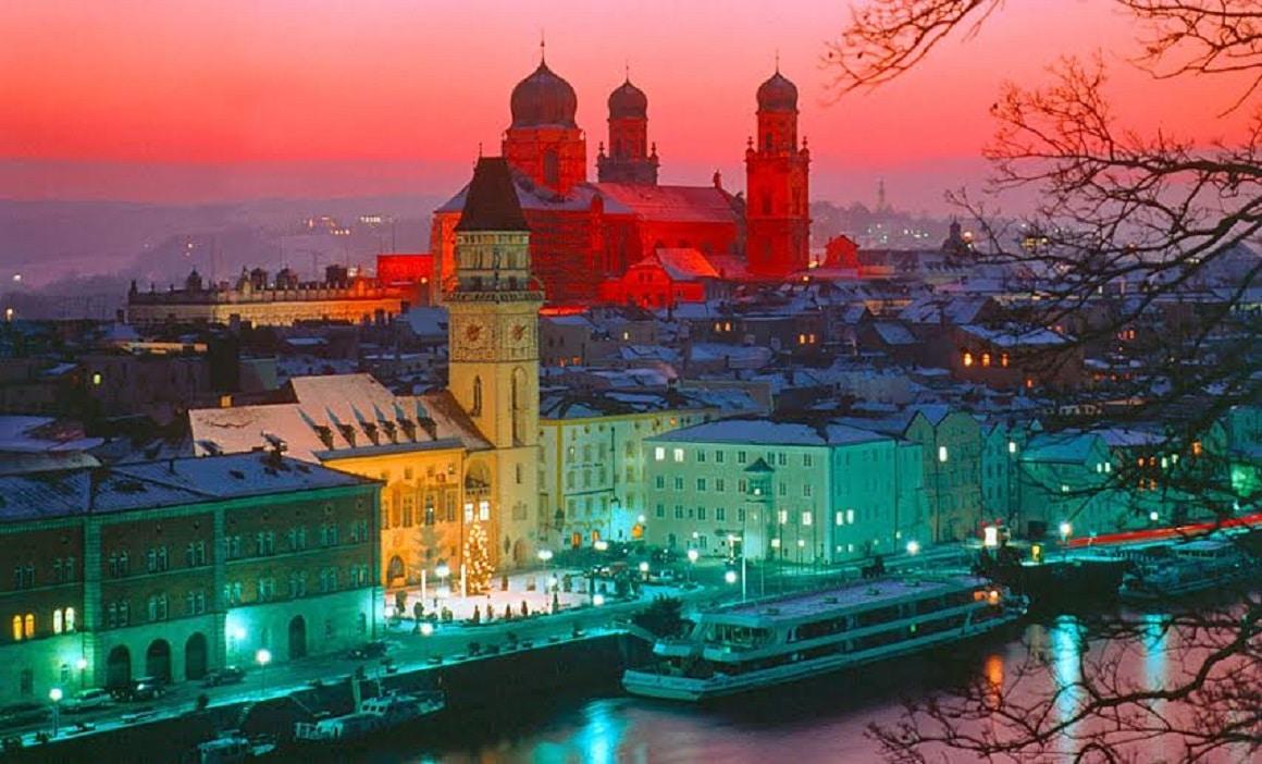 Passau - o destinație turistică de care germanii sunt mândri