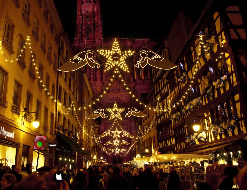 Strasbourg - cea mai veche Piață de Crăciun din Franța