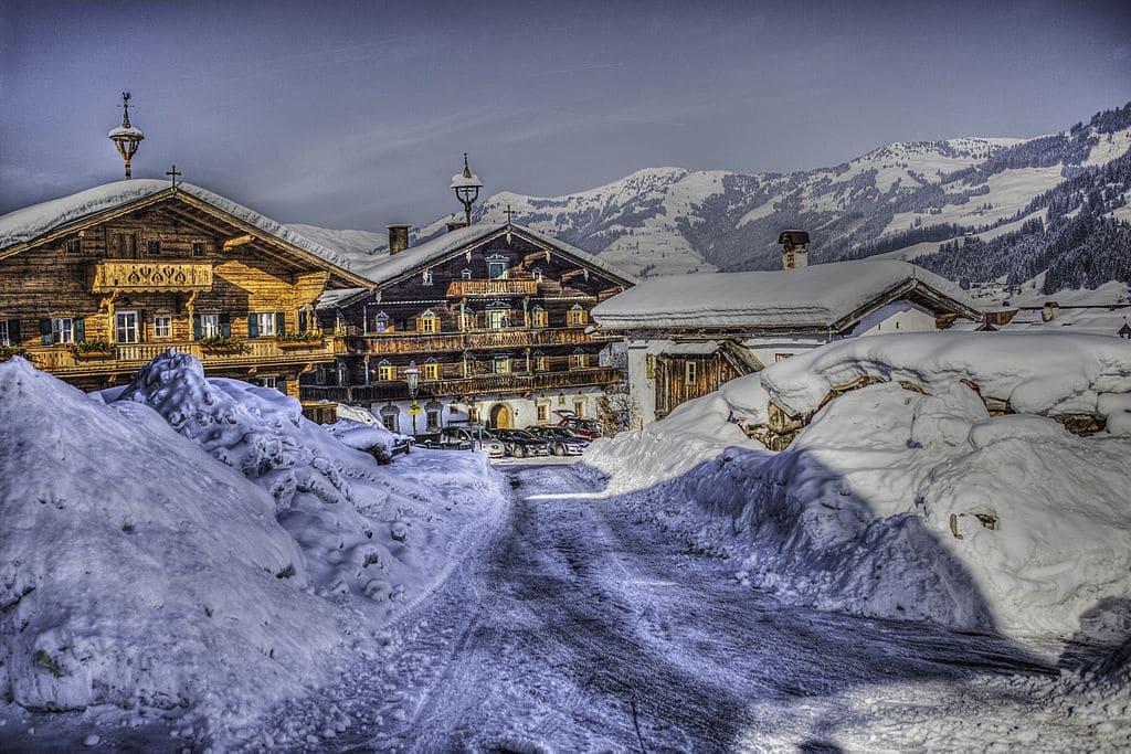 În Kitzbuhel există peste 10 000 de locuri de cazare