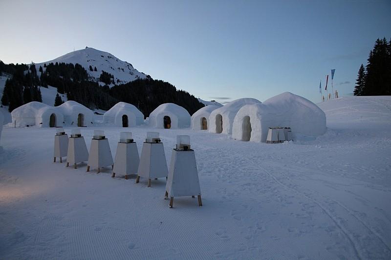 Alpeninglu, o lume de gheaţă!
