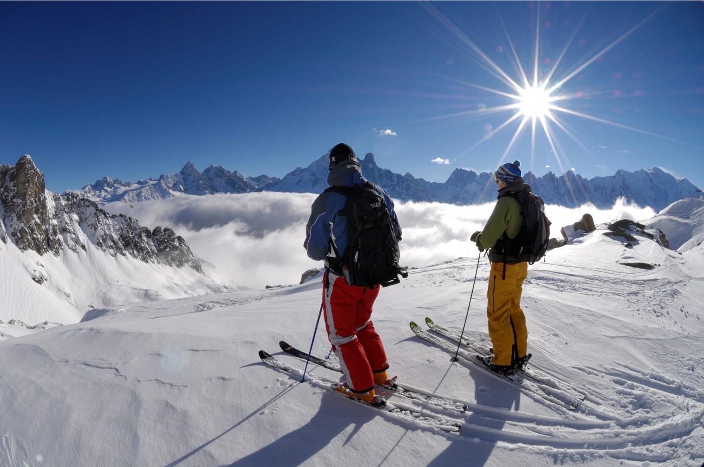 Cele mai bune pârtii de ski pun la încercare limitele turiştilor