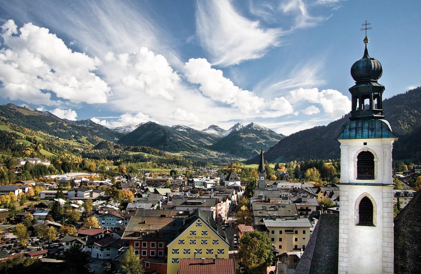 Kitzbuhel, peisaj de vara