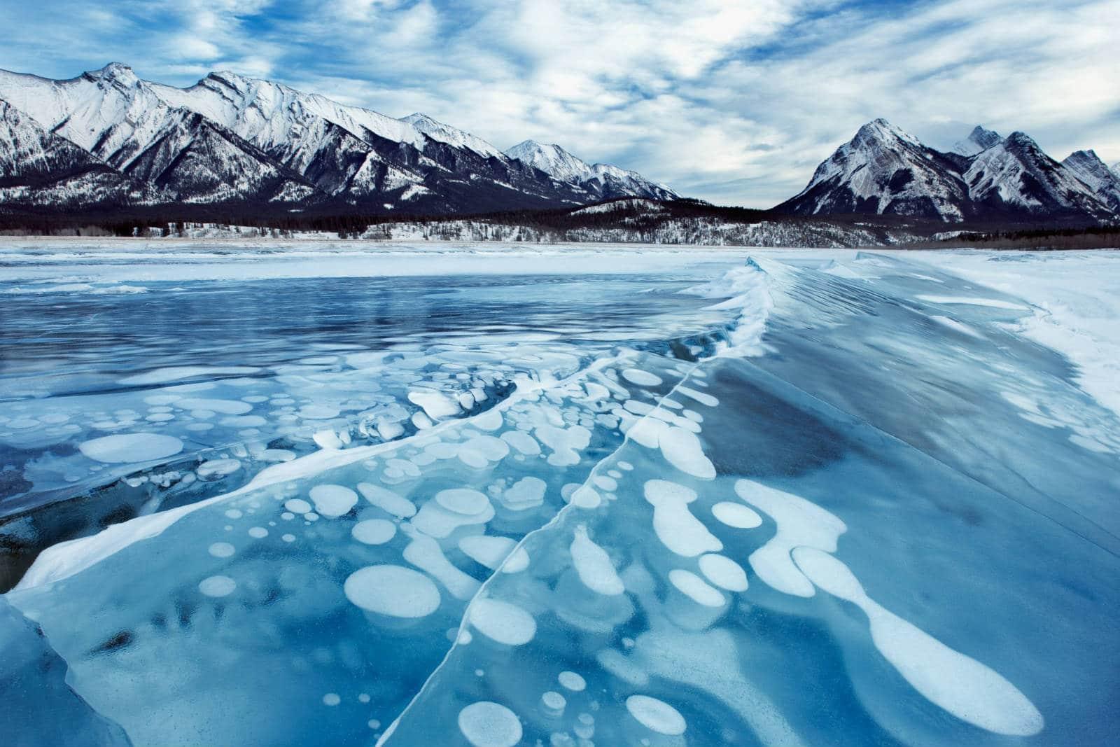 Lacul Abraham, Canada