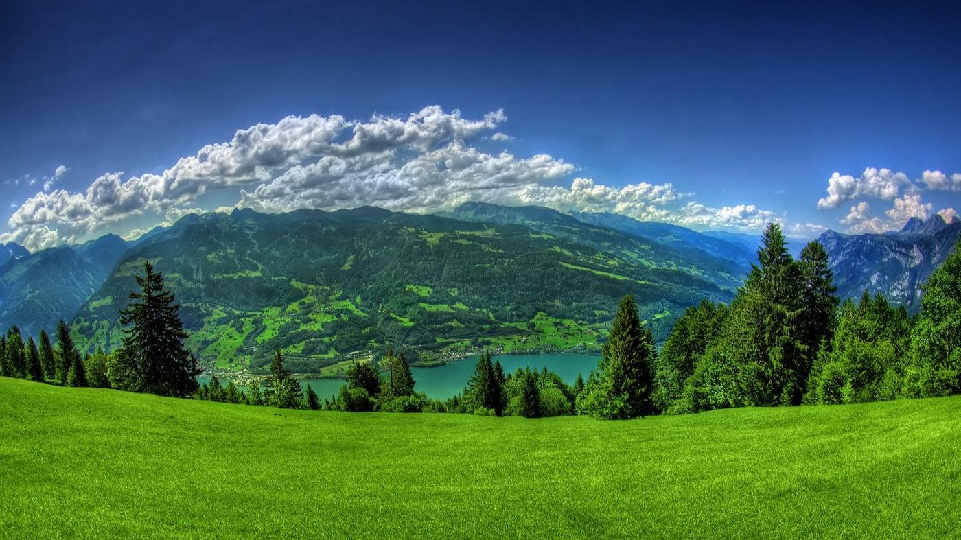 Lacul Lucerne, apele care întregesc peisajul montan